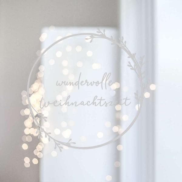 Wundervolle Weihnachtszeit - Wandsticker