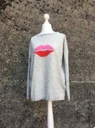 Lips Cashmere Pullover