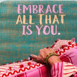 ♥ Embrace All That Is You ♥ - Yogamatte