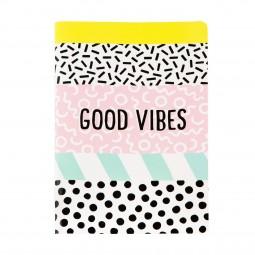 Perfekt für den Neuanfang - Good Vibes Notizheft
