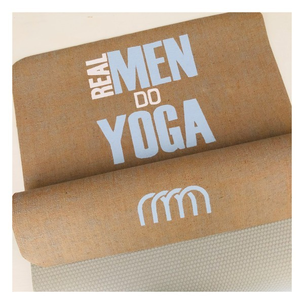 Real Men Do Yoga - personalisierte Yogamatten