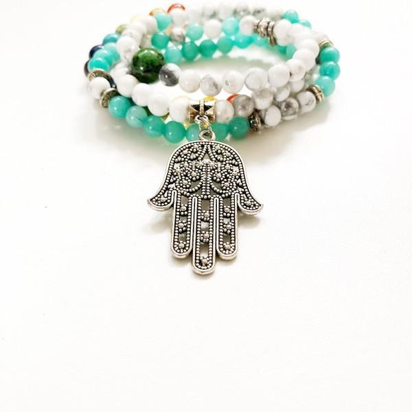 Chakra Hand-Mala von Hrezteil