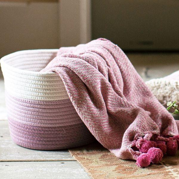 Baumwoll Aufbewahrungskorb