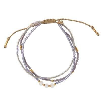 Frauenpower - Mondstein Armband